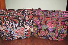 Vera Bradley SYMPHONY IN HUE or VERSAILLES Large XL Travel CarryOn VERA TOTE NWT