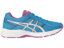 ASICS WOMENS GEL CONTEND 4 RUNNING BLUE SILVER SHOES 2017 *FREE POST AUSTRALIA