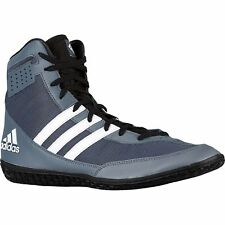 New Adidas Mat Wizard 3 Boxing/Wrestling Shoes - Grey/White