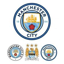 Manchester City FC Football Club Wall Sticker Set CR Gift Present Home Bedroom