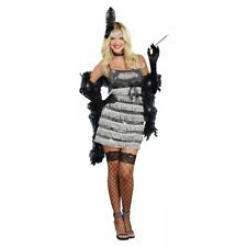Flapper Costume Adult Roaring 20s Gatsby Girl Halloween Fancy Dress