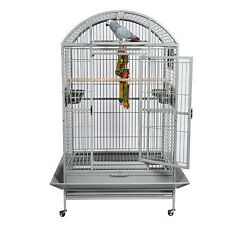 RAINFOREST SANTOS PLAY & DOME TOP AFRICAN GREY AMAZON MACAW LARGE PARROT CAGE