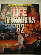 """Collectors Edition"""" Life Remembers 1992 """"-The Year in Pictures-Timeline/Passages"""