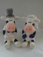 Wedding Cake Toppers Personalised Bride and Groom Cow