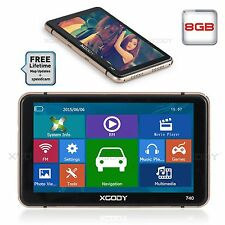 "XGODY Touch Screen 7"" Car Truck GPS Navigation Navigator SAT NAV New AU EU Maps"