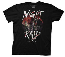 Akame Ga Kill Night Raid Black Men's T-Shirt Anime Manga NEW