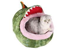 Medium Small Pet House Dog Bed Puppy Cushion Pet Soft Warm Cat Kennel Dinosaur