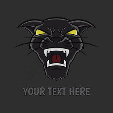 Black Panther Head T-Shirt, Men Women Youth Tank Long Sleeve Personalized Tee