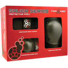 Triple Eight Saver 3-Pack Skateboard Pads