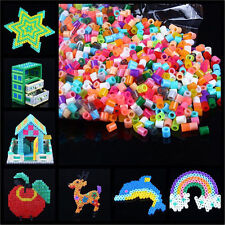 1000pcs 5mm DIY HAMA/PERLER Beads for GREAT Kids Fun Craft 29 Single Color Cute