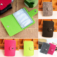 R Retro Women Pouch ID Credit Card Wallet Cash Holder Organizer Case Box Pocket