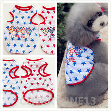 Spring Summer Dog Vest T-Shirt Cat Clothes  Puppy Pet Clothing Shirt Pajamas