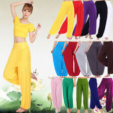 HOT Women Harem Genie Yoga Gym Sport Pants Aladdin Hippie Baggy Trousers Slack