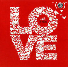 All You Need Is Love, Compilation, Limited Starbucks Exclusive CD NEW