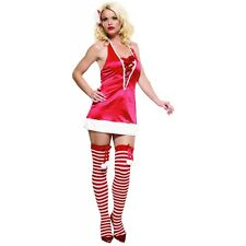 Sexy Mrs Santa Costume Adult Miss Claus Christmas Fancy Dress
