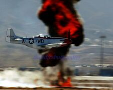 P-51 MUSTANG FIGHTER BOMBER US AIR FORCE MILITARY WWII KOREAN WAR AIR SHOW PHOTO