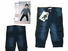 Baby Toddler Winter pants Trousers Thermo Boy´s Jeans Gr. 74 -86 blue