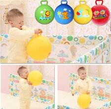 Cartoon Inflatable Bouncing Ball Educational Toys Gifts Baby Infant Kids 4Color