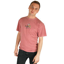 Life is Good Brick Red Jake Rocket Happy Hour Mens Tee Top Crusher T-Shirt NWT