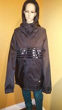 Diesel 55DSL Jextend Black Hooded Jacket. Size XL brand-new with tags