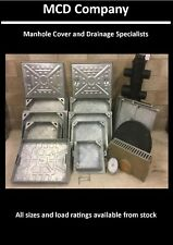 Manhole Cover 300x300 450x450 600x450 600x600 Recessed Block paving Solid top