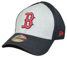 "Boston Red Sox New Era MLB 39THIRTY ""Heathered Gray Neo"" Flex Fit Hat"