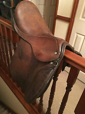 "17"" CLIFF BARNSBY GP SADDLE 7"" WIDE - M/W SADDLE HORSE RIDING GENERAL PURPOSE"