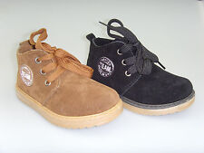 New Youth Kid's Boy's Faux Suede Ankle Dress Casual Boots Shoes Size 11-3