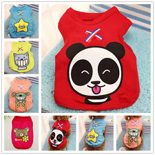 Cute Pet Vest Dog Cat T Shirt Puppy Summer Clothes Apparel Costume XS/S/M/L/XL