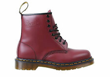 NEW DR MARTENS 1460 CHERRY SMOOTH MENS LEATHER BOOTS