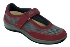 Chattanooga Orthofeet Women's Comfort Orthopedic Diabetic Wide Mary Jane Shoes