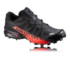 Salomon S-Lab Speedcross Mens Red Black Water Resistant Running Shoes Pumps