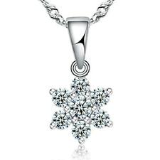 FASHIONS FOREVER® 925 Sterling Silver Star AAA-Zirconia Necklace-Pendant