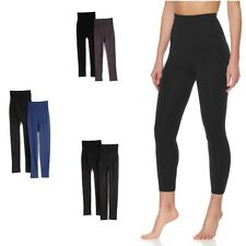 $59.90 Rhonda Shear High-Waist Cotton-Blend Shaping Legging 2 Pack 467148J $45
