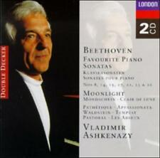 Beethoven Favourite Piano Sonatas, Vladimir Ashkenazy 2 CD Set NEW!