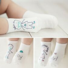 Lovely Cute Newborn Baby Kids Cotton Sock Boys Girls Toddler Anti-slip Socks