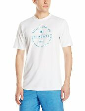 New Rip Curl Men's Tunnel Vision Short Sleeve Surf Shirt White XX-Large NWT $35