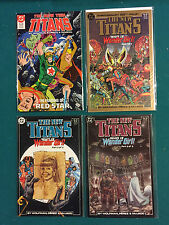 New Teen Titans (1984 2nd Series) New Titans #49,50,51,52  VF to NM