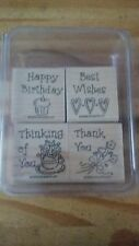 Stampin Up! Stamp Sets III (MOST UNMOUNTED AND BRAND NEW)