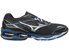 MIZUNO MENS WAVE CREATION 18 BLUE SILVER RUNNING SHOES 2017 **FREE POST AUST