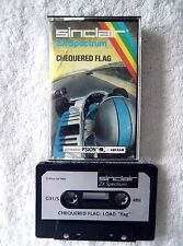 37583 Chequered Flag - Sinclair Spectrum 48K Game (1983) G31/S