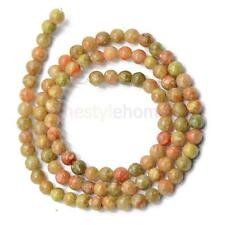 4mm 6mm 8mm Autumn Jasper Gemstone Round Beads Strand 15 Inch Jewelry Making