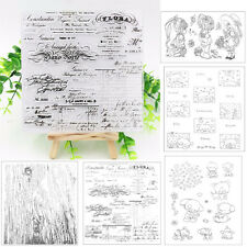 Rubber Clear Stamp Seal