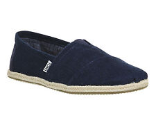 Mens Toms Toms Classic NAVY LINEN Casual Shoes