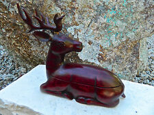 Hand Carved & Highly Polished Stag Ironwood Wood Box Table Display 6 Inches