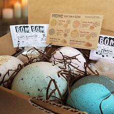 Bath Bombs Tea Gift Set Skin Care Beauty Pampering Soothing Relaxing Oils Salts