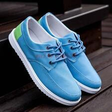 Fashion mens Casual Lace Up Flat Canvas Shoes Breathable Sneakers Board Shoe