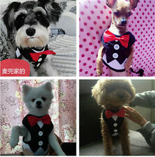 Small Dog Vest Harness Leash Set Puppy Cat Harness Pet Collar With Lead XS S M L