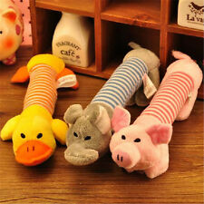New Pet Toy Squeaky Duck Elephant Dog Toys Puppy Chew Sound Plush Toys