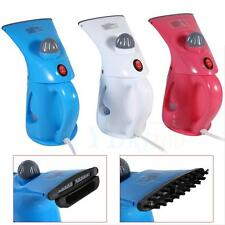 Portable Blue Electric Steam Garment Steamer Brush For Ironing Clothes Handheld